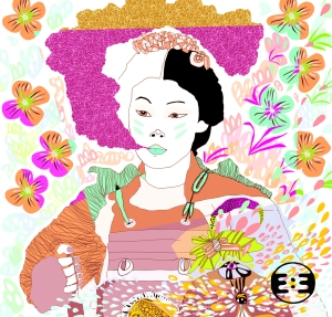 Samurai by Eva Mirror