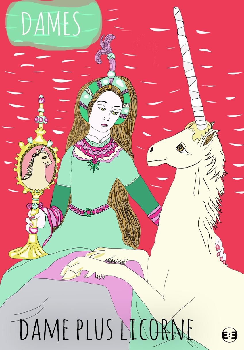 Dame Plus Licorne by Eva Mirror {Serie 2015}